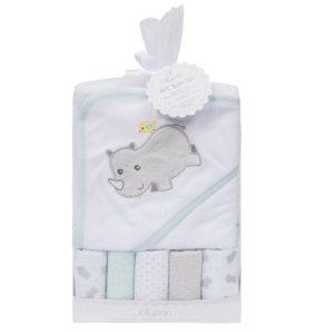 pack de 6 toallas de bebé