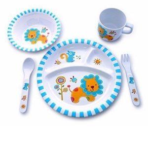 platos para bebés
