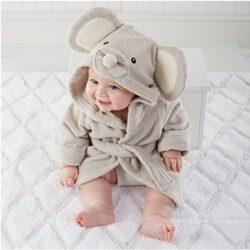 toalla para bebé con forma de ratón