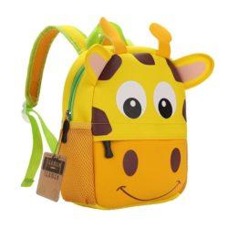 mochila para bebés girafa