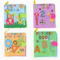 4 libros de tela para bebés
