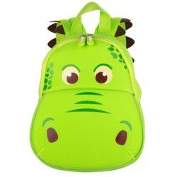 mochila con forma de cocodrilo para bebé