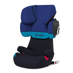 sillita cybex solution azul