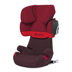 silla coche para bebés color rojo