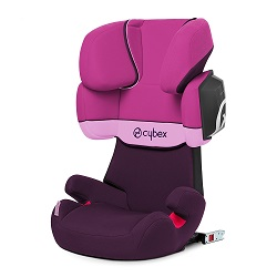 sillita coche cybex solution rosa