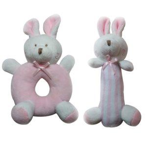 sonaja con forma de conejo