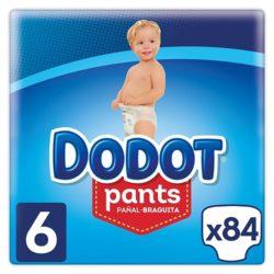 pack mensual de pañales dodot talla 6