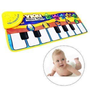 piano para bebebé alfombra