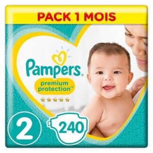 pañal desechable de talla 2 pampers