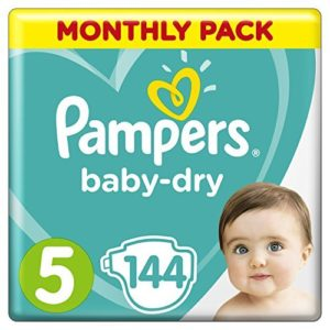 pañal talla 5 pampers