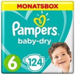 pack ahorro de pañal pampers para bebés talla 6