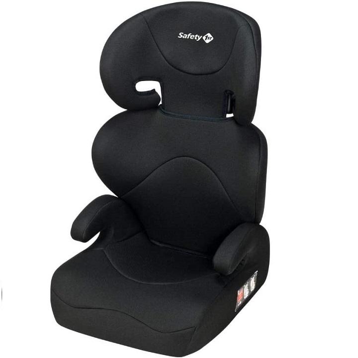 silla de coche negro